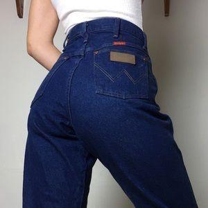 Wrangler women's cut high waisted jeans sz 31/32